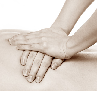 Manipulation de l'ostéopathe